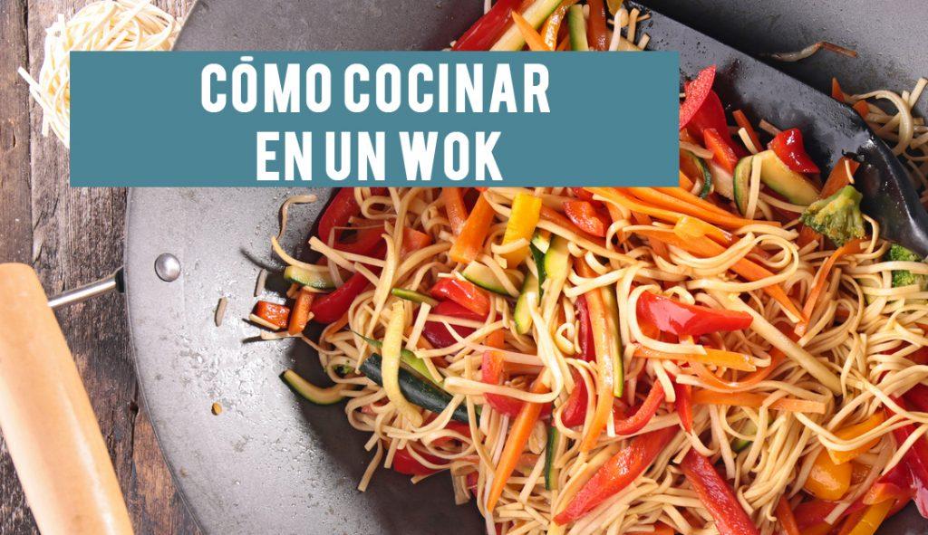 Como Cocinar En Un Wok