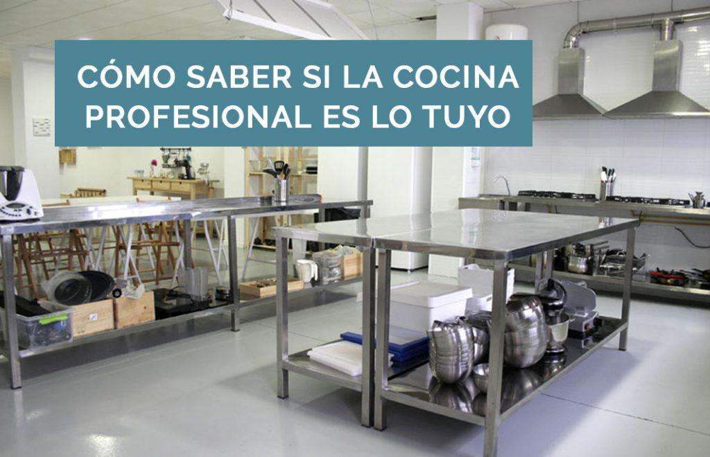 Como Saber Si La Cocina Profesional Es Lo Tuyo B
