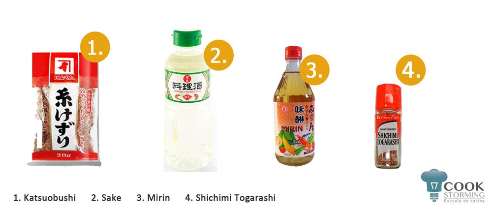 ingredientes basicos de la cocina japonesa