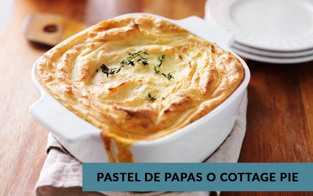 Pastel De Patatas O Cottage Pie