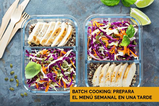 Batch Cooking Menu Semanal
