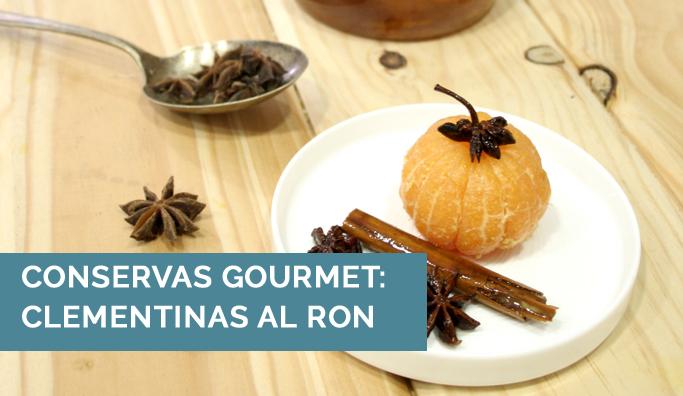 Clementinas Al Ron