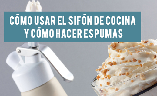 Como Usar Sifon De Cocina Blog