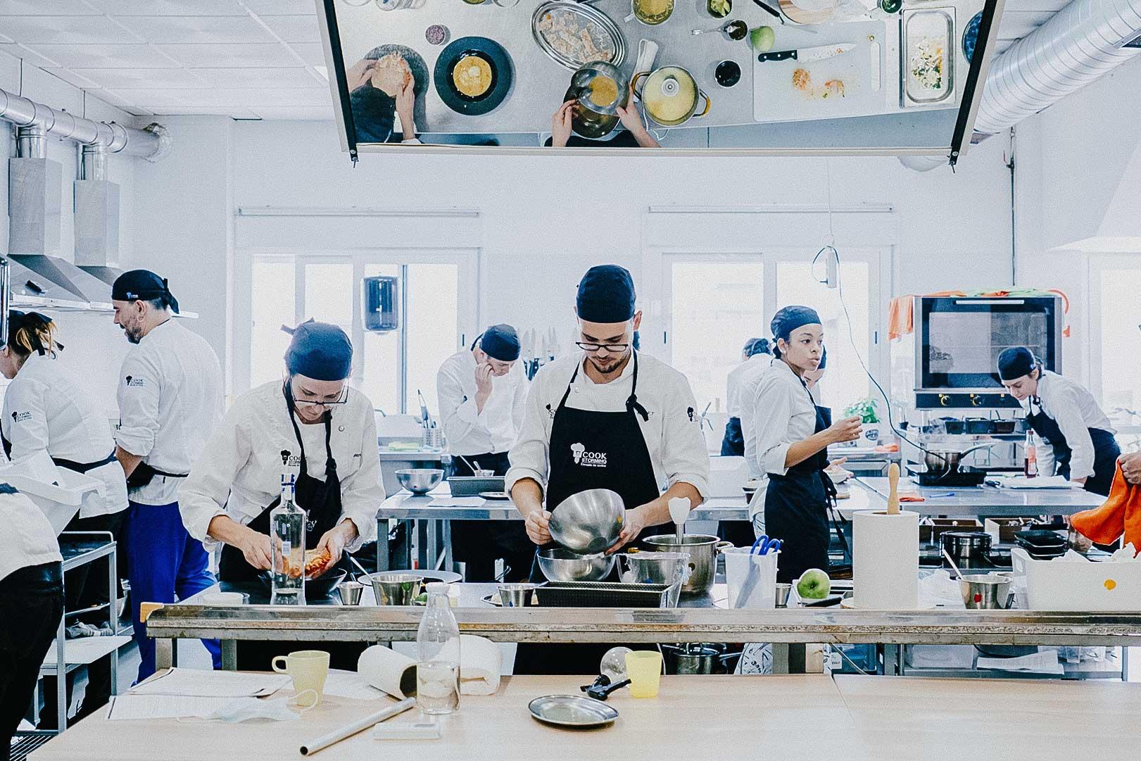 cookstorming, escuela de cocina en sevilla