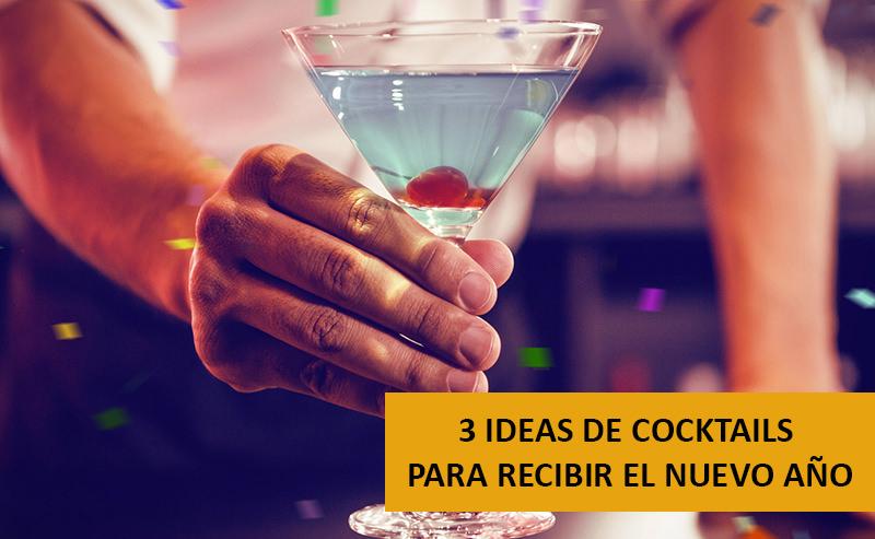 3 Ideas De Cocktails Para Recibir El Nuevo Año