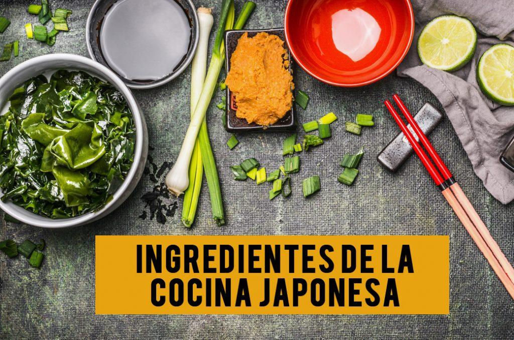 Ingredientes De La Cocina Japonesa