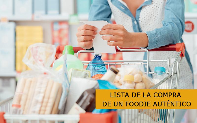 Lista De La Compra De Un Foodie