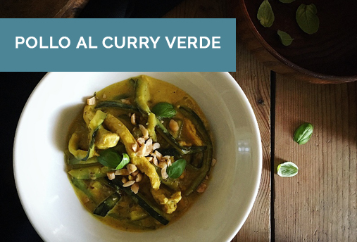 Pollo Al Curry Verde