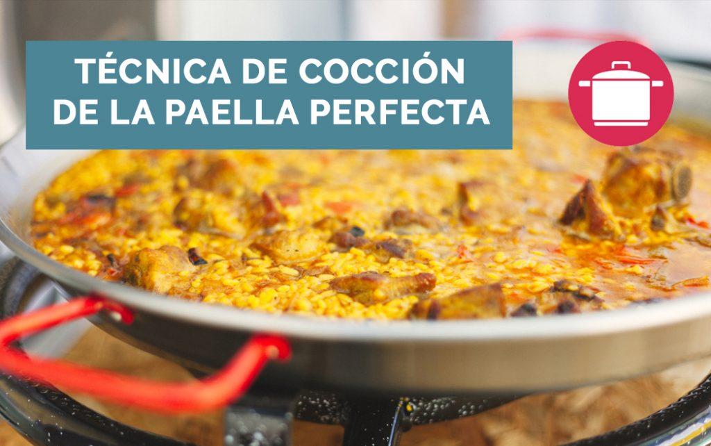Tecnica De Coccion De La Paella